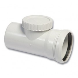 PP Waste Water Access T-Piece (110 mm)
