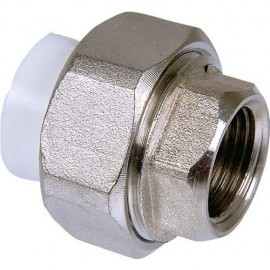 "Metal Female Threaded Union (Hexagonal Shaped) (25x3/4"")"