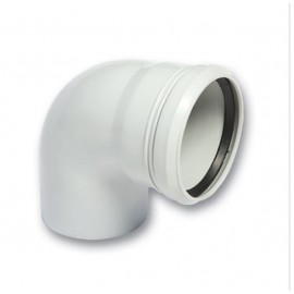 PP Waste Water Elbow -90°- (125 mm)