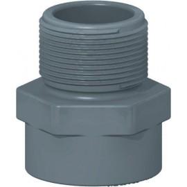 U-PVC Dış Dişli Yapıştırma Adaptör (40 mm)